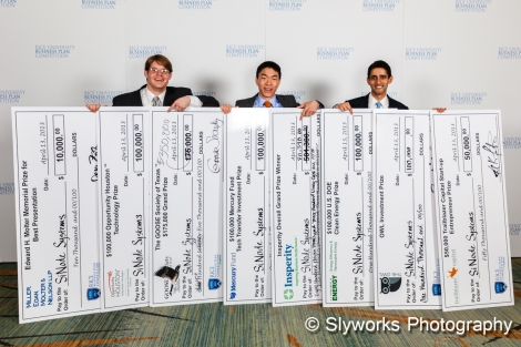 SiNode Rice Business Plan 2013 Winners